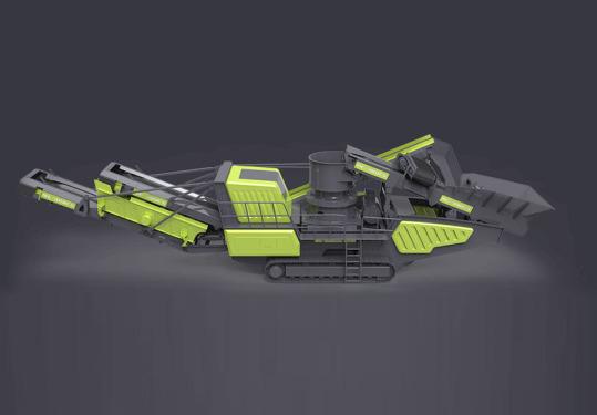 美斯达MC-300CS(多缸)履带圆锥式移动破碎机