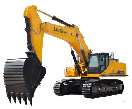 柳工970E挖掘機