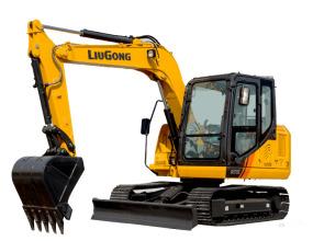 柳工CLG9075E挖掘机高清图 - 外观