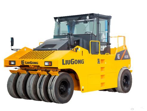 柳工6530輪胎壓路機