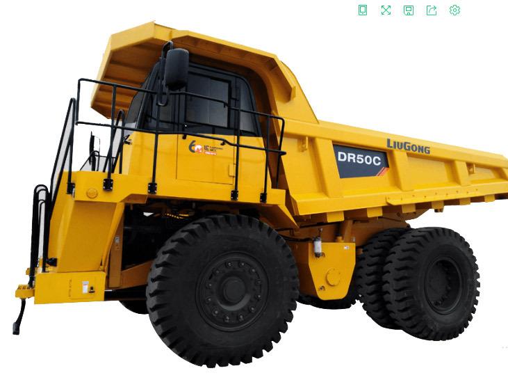柳工DR50C矿用自卸车