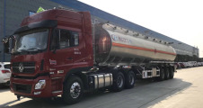 程力CLW9403GYYALV铝合金运油半挂车