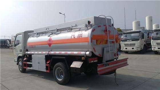 程力东风多利卡油罐车高清图 - 外观