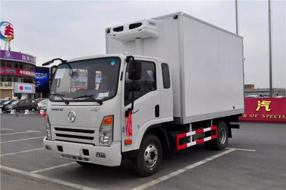 程力箱长3.75米~4.1米大运冷藏车