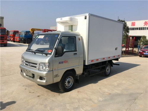 程力箱长2.6米~2.9米福田驭菱冷藏车