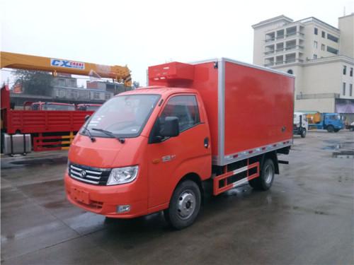 程力箱长3.2米~4米福田康瑞冷藏车