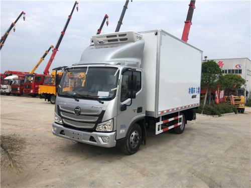 程力箱长3.7米~4.08米福田欧马可S3冷藏车