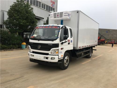 程力箱长4.08米福田欧马可(高端轻卡)冷藏车
