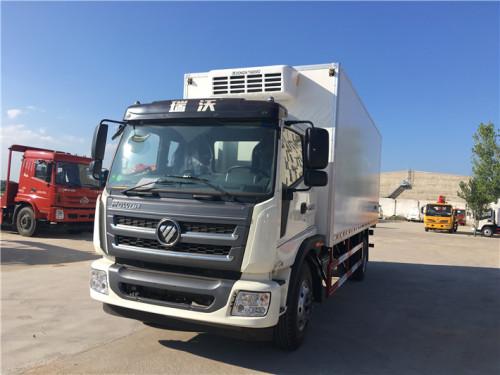 程力箱长6.72米~7.6米福田瑞沃冷藏车