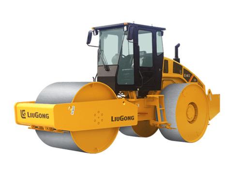 柳工CLG6327靜碾三鋼輪壓路機