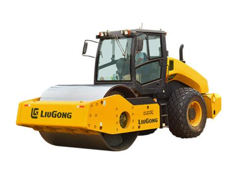 柳工CLG6622E全液压双驱单钢轮压路机