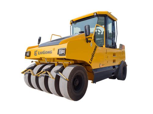 柳工CLG6526轮胎压路机