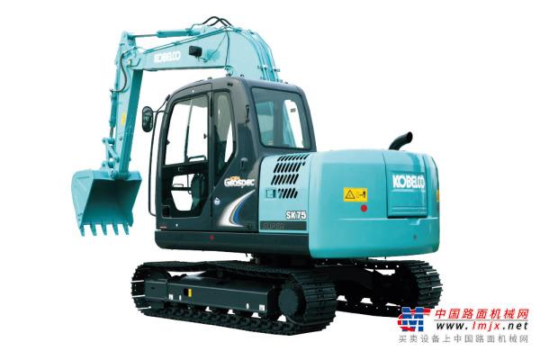神鋼SK75-8挖掘機