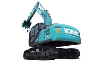 神钢SK210LC-10挖掘机高清图 - 外观