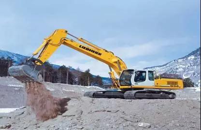 利勃海尔R934C液压挖掘机