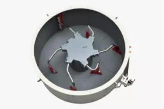 利勃海尔R1.0混凝土搅拌机高清图 - 外观