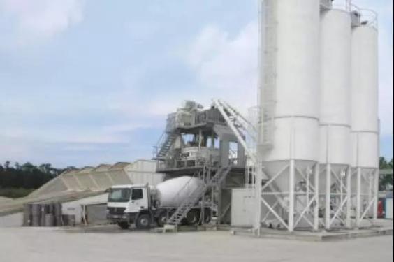 利勃海爾Betomix2.25水平進料式混凝土攪拌站