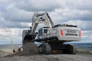 利勃海尔R9100矿用挖掘机