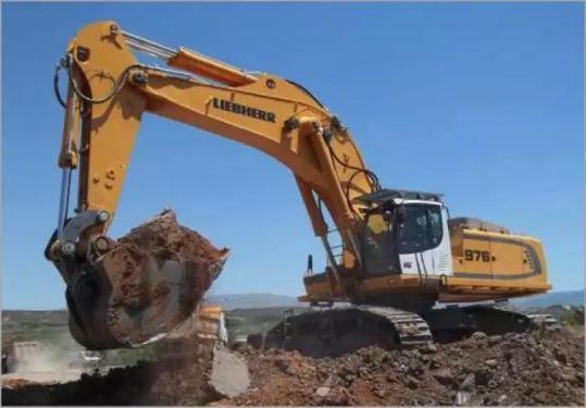 利勃海尔R976大型液压挖掘机