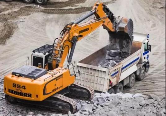 利勃海尔R954C大型液压挖掘机