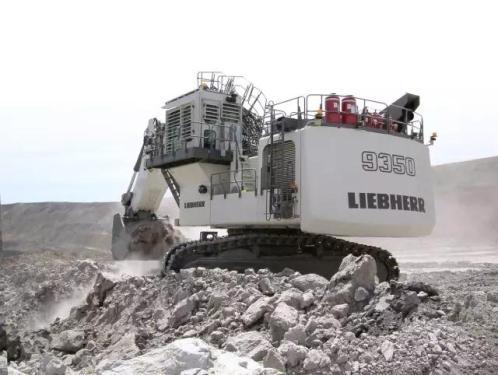 利勃海尔R9350挖掘机