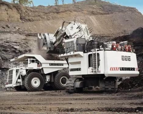 利勃海尔R955挖掘机