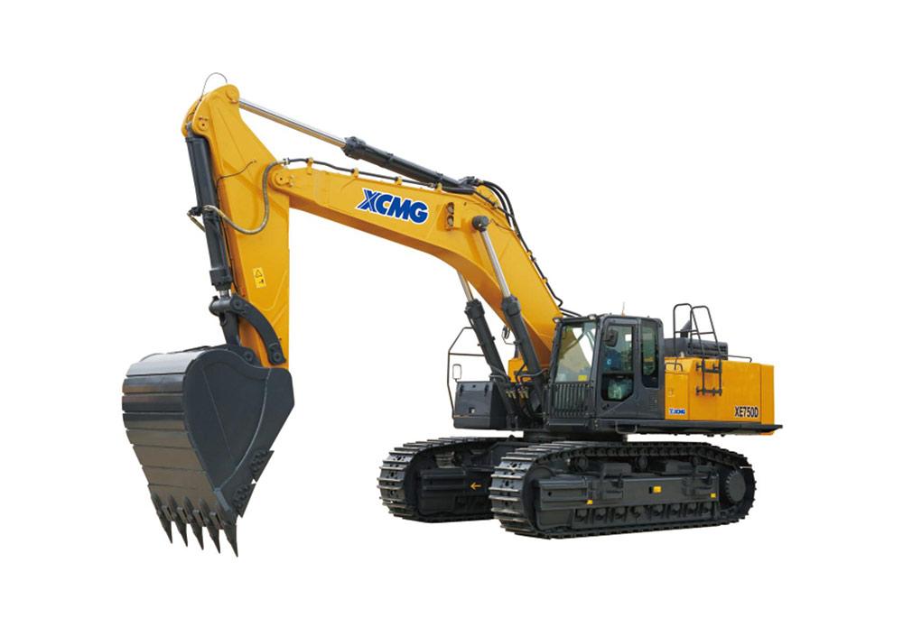 徐工XE750D挖掘機高清圖 - 外觀