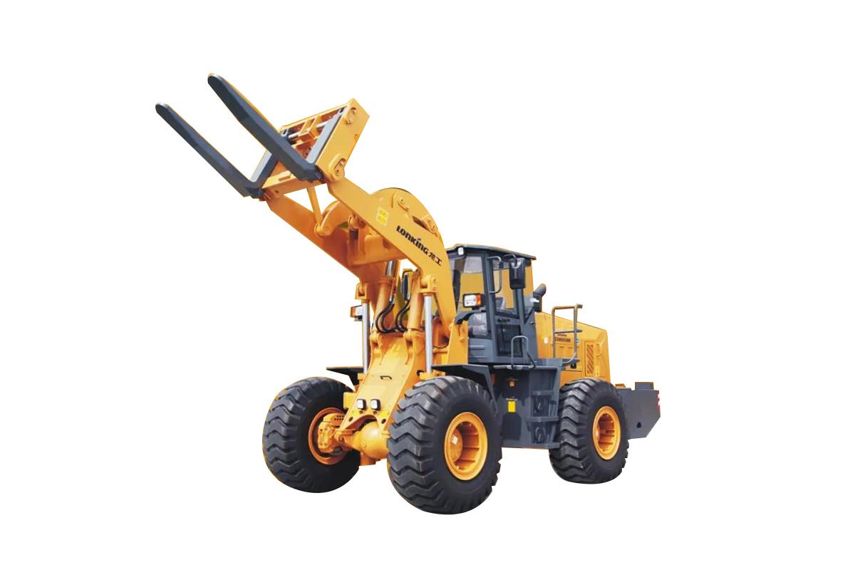 龙工CDM855NW石料叉装机轮式装载机高清图 - 外观