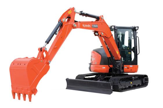 久保田KX163-5无尾回转小型挖掘机