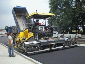 宝马格BF 800 C沥青摊铺机高清图 - 外观