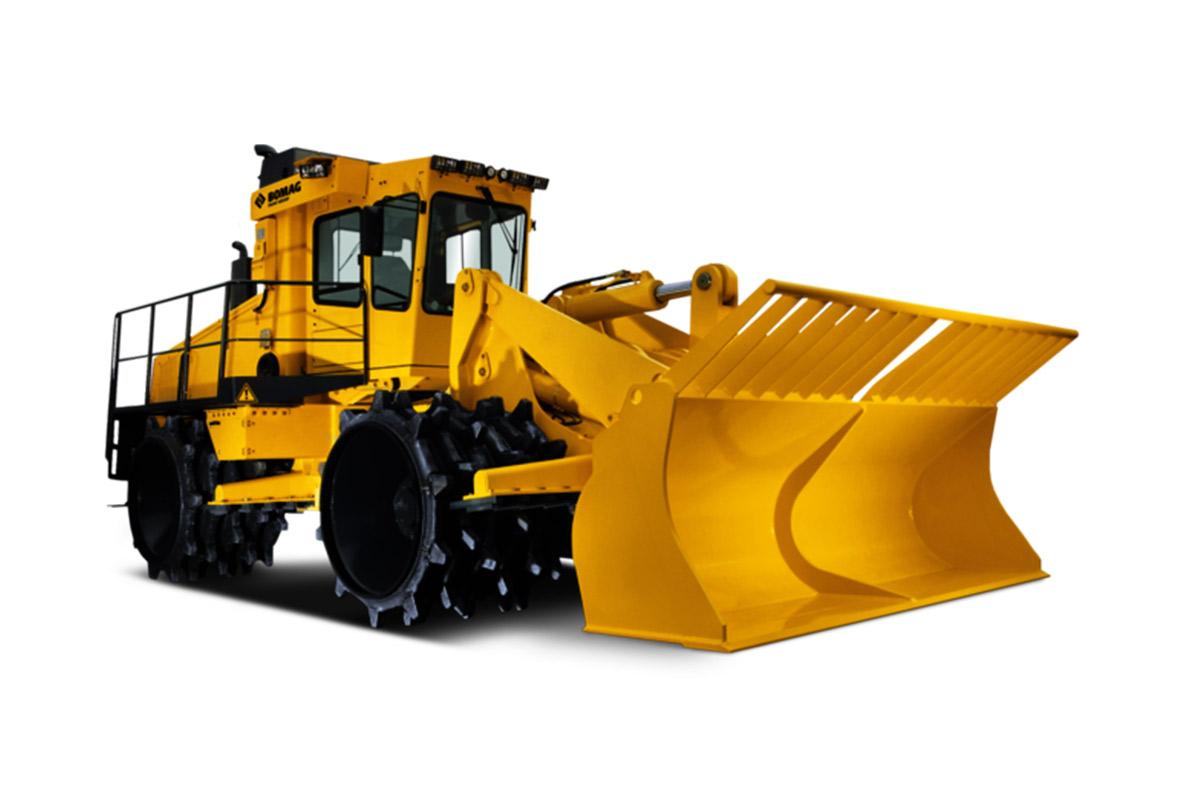 宝马格BC 772 RS-2垃圾压实机高清图 - 外观