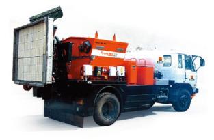 英达PM300沥青路面热再生修补车(修路王)
