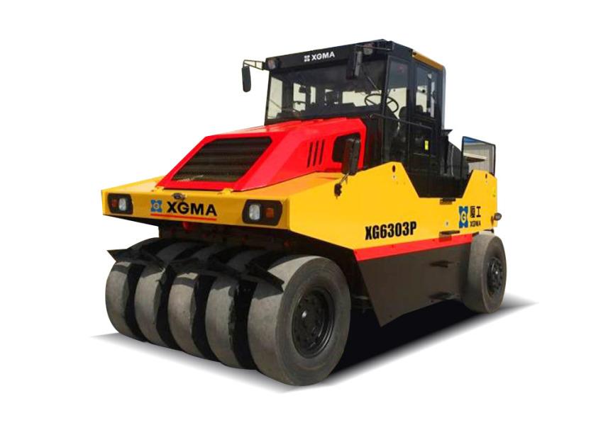 厦工XG6303P全液压轮胎辗