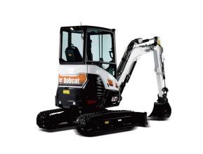 山猫E27z挖掘机高清图 - 外观