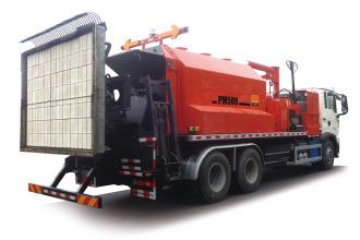 英达科技PM500-48-TRK沥青路面热再生修补车(修路王)高清图 - 外观