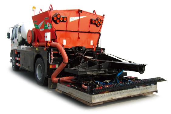 英达PM400热再生养护车