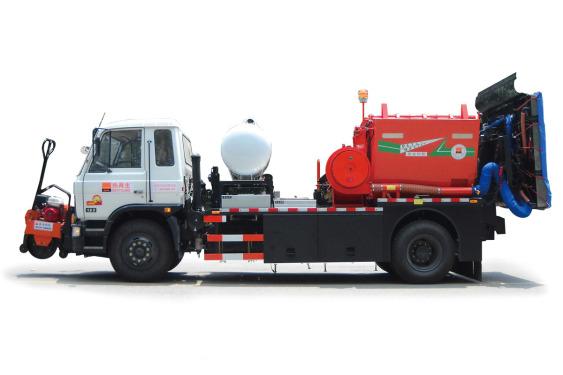 英达PM250沥青路面热再生修补车(修路王)