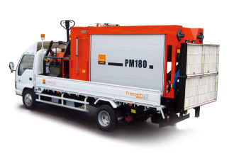 英达科技PM180沥青路面热再生修补车(修路王)高清图 - 外观