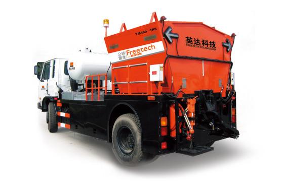 英達TM400瀝青路面綜合養護車