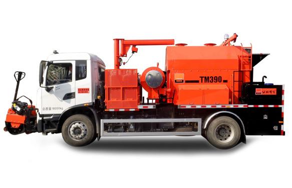 英达TM390沥青路面综合养护车