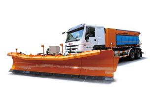英达SR9070重型高效除雪撒布车