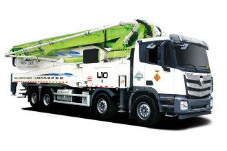 雷萨重机BJ5449THB-XD(L10-56米)泵车高清图 - 外观