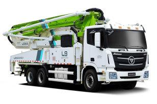 雷萨重机BJ5289THB-XD(L9-40米)泵车