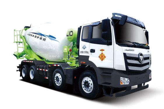 雷萨重机BJ5319GJB-6D(TL408(LNG))搅拌运输车