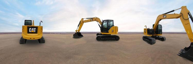 Cat® 308.5 迷你型挖掘机