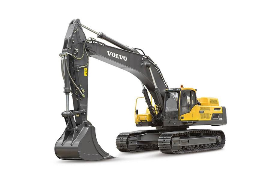 沃尔沃EC480DL履带式挖掘机