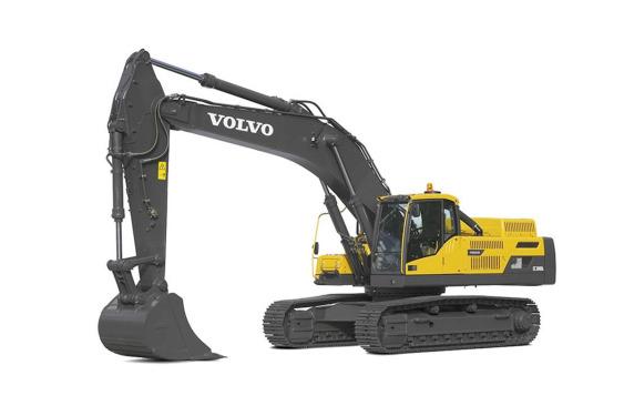 沃尔沃EC380DL履带式挖掘机