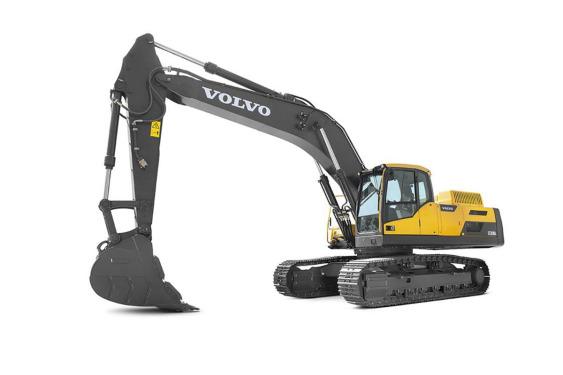 沃尔沃EC350DL大型履带式挖掘机