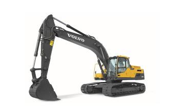 沃尔沃EC250D履带式挖掘机高清图 - 外观