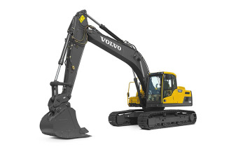 沃尔沃EC210D履带式挖掘机高清图 - 外观
